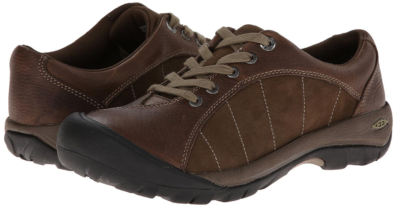 KEEN Women's Presidio Shoe Cascade Brown/Shitake 9.5 M US Women - 6