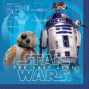 Star Wars Episode VIII Beverage Napkins