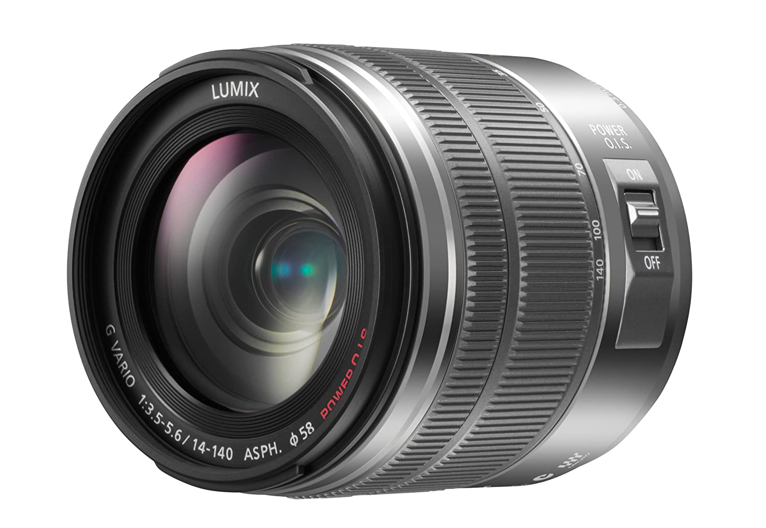 Panasonic HFS14140K Lumix G Vario 14-140mm f/3.5-5.6 Lens Pan Stanford Publishing H-FS14140K