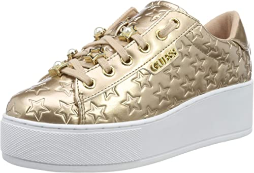 Guess NickiesActive LadyLeather Li, Sneaker Donna