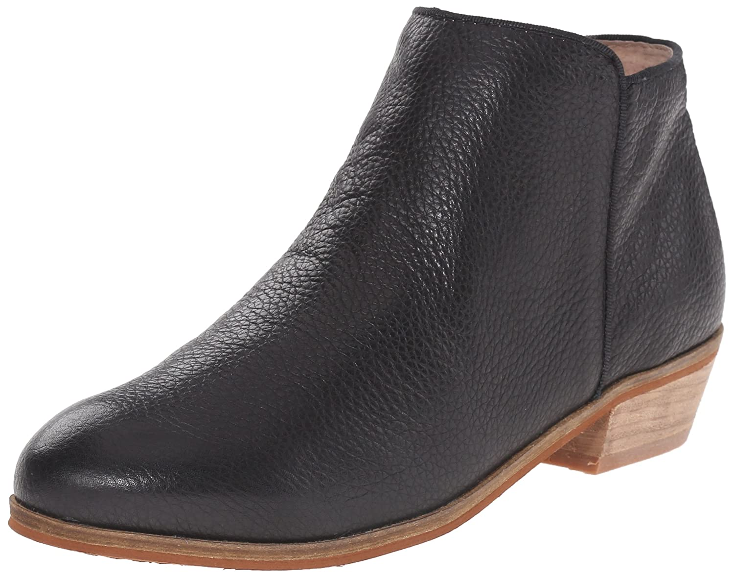 SoftWalk Women's Rocklin Chelsea Boot B00HQNH30Y 8 B(M) US|Black Veg Tumbled Leather