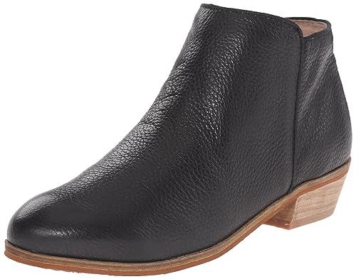 Softwalk Women's Rocklin Chelsea Boot,Black Veg Tumbled Leather,5 ...