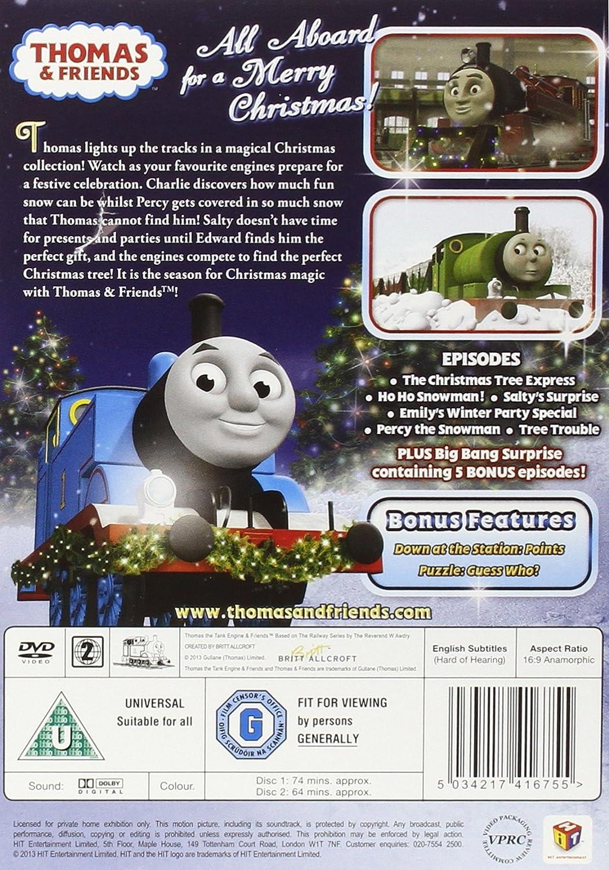 Thomas & Friends: Merry Christmas, Thomas! [DVD]: Amazon.co.uk ...
