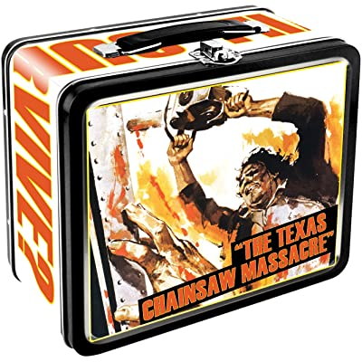 Aquarius Texas Chainsaw Massacre Large Tin Fun Box: Toys & Games