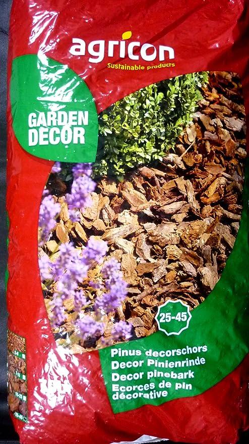 pininen Dekor corteza 70L 25 – 45ømm corteza de pino Decoración corteza: Amazon.es: Jardín