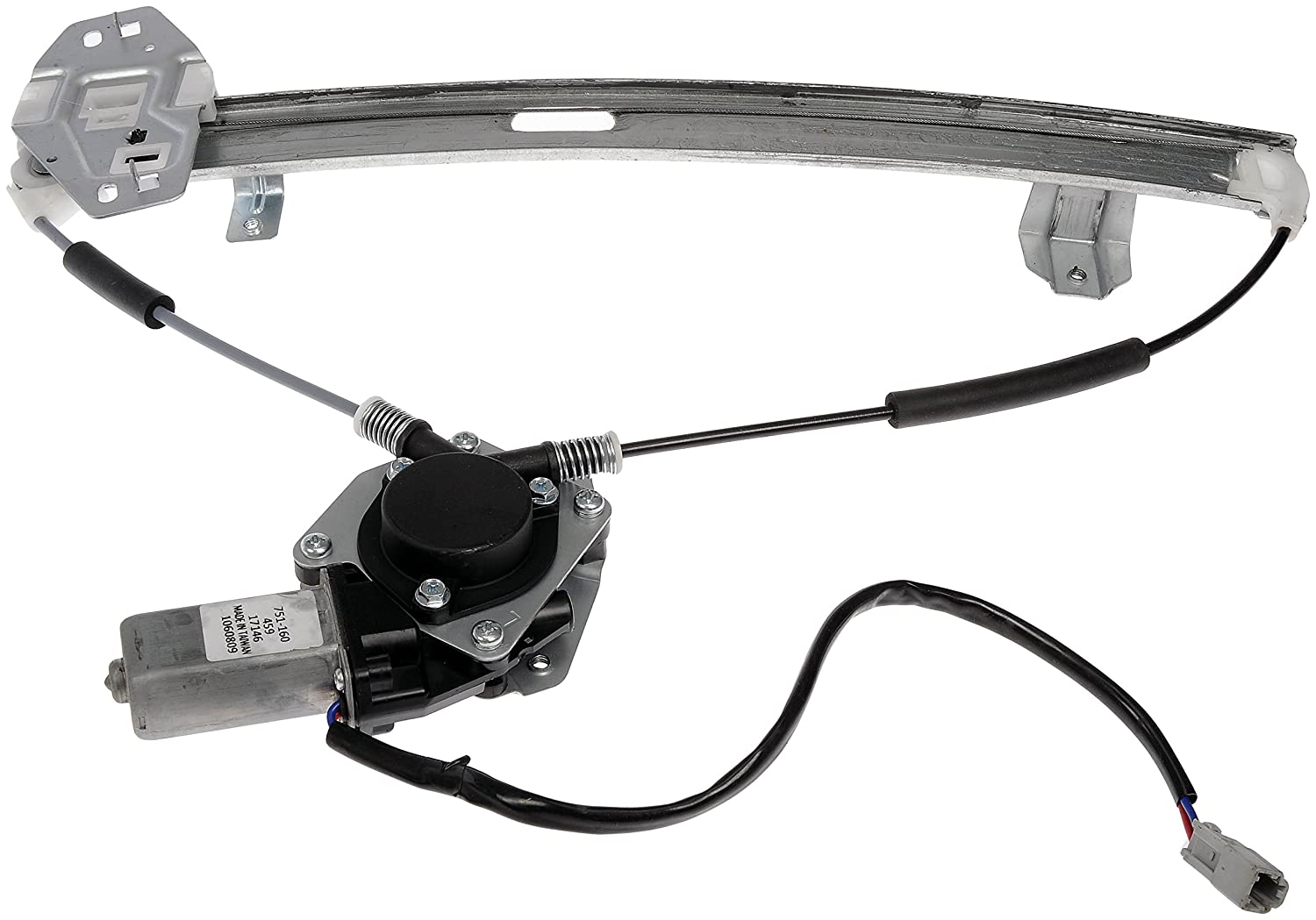 Dorman 751-160 Acura TL Driver Side Rear Power Window Regulator with Motor Dorman - OE Solutions