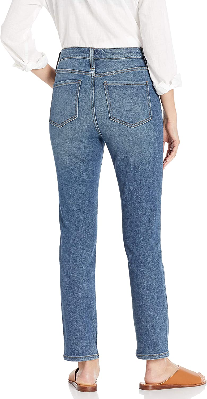 Marchio Daily Ritual High-Rise Slim Straight Jean-Base B Donna