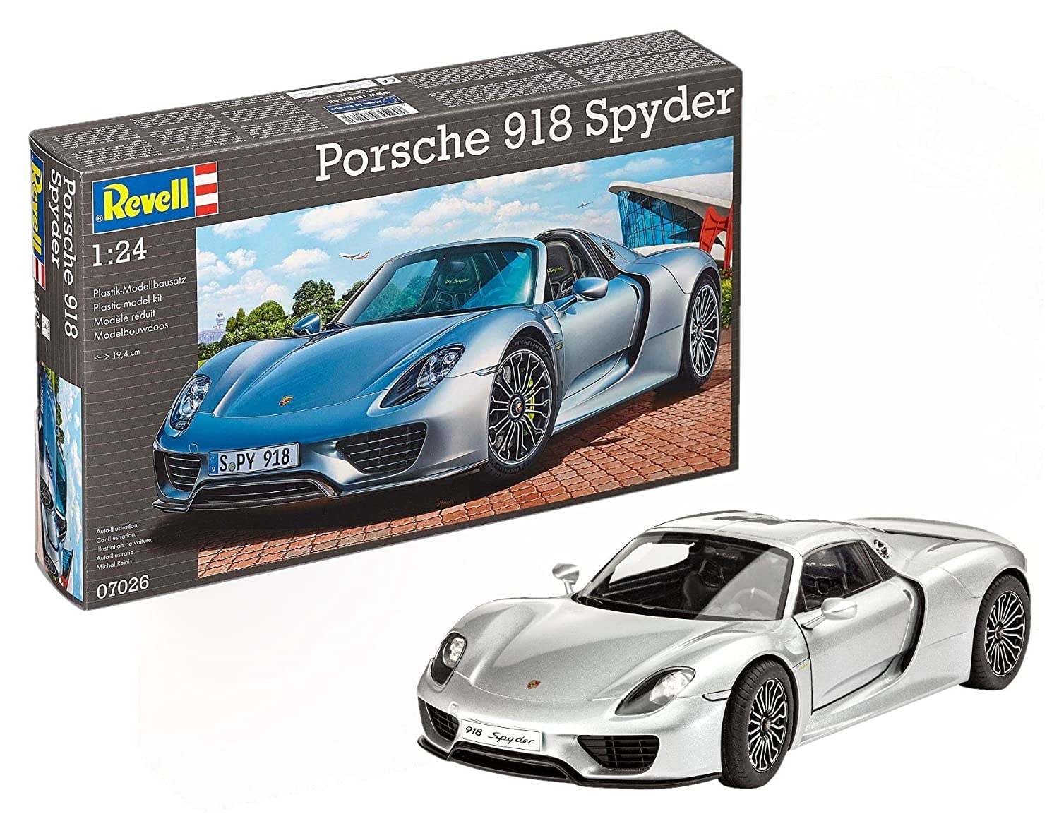 Revell of Germany Porsche 918 Spyder Model Kit 80-7026