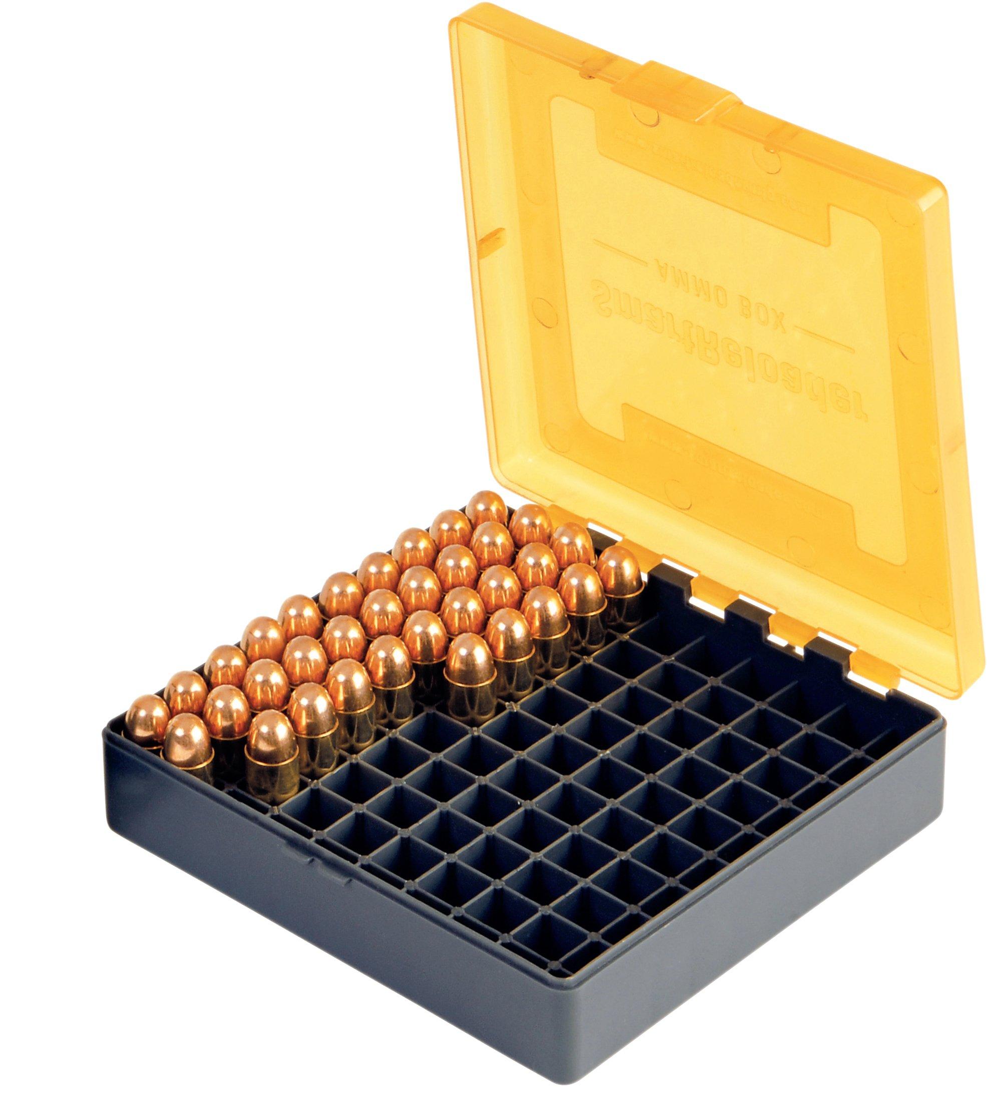 SMARTRELOADER Boîte de rangement  1a pour 100 cartouches pour 9x19, .380ACP  (100 colpi) 865840d7d4d