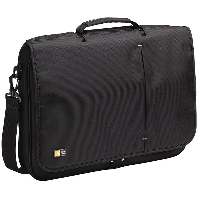 c79518bc87d Amazon.com  Case Logic VNM-217 17-Inch Laptop Messenger Bag (Black ...