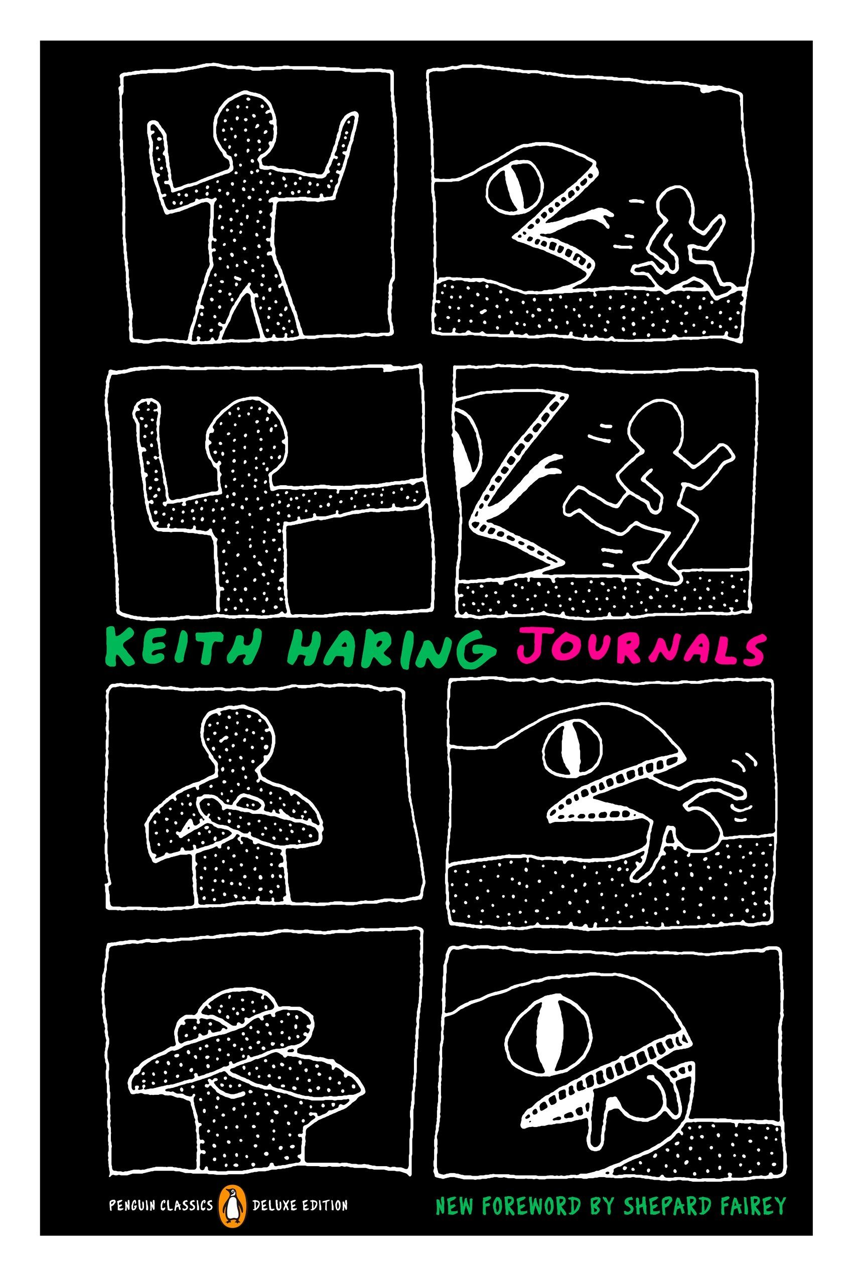 keith haring journals penguin classics deluxe edition