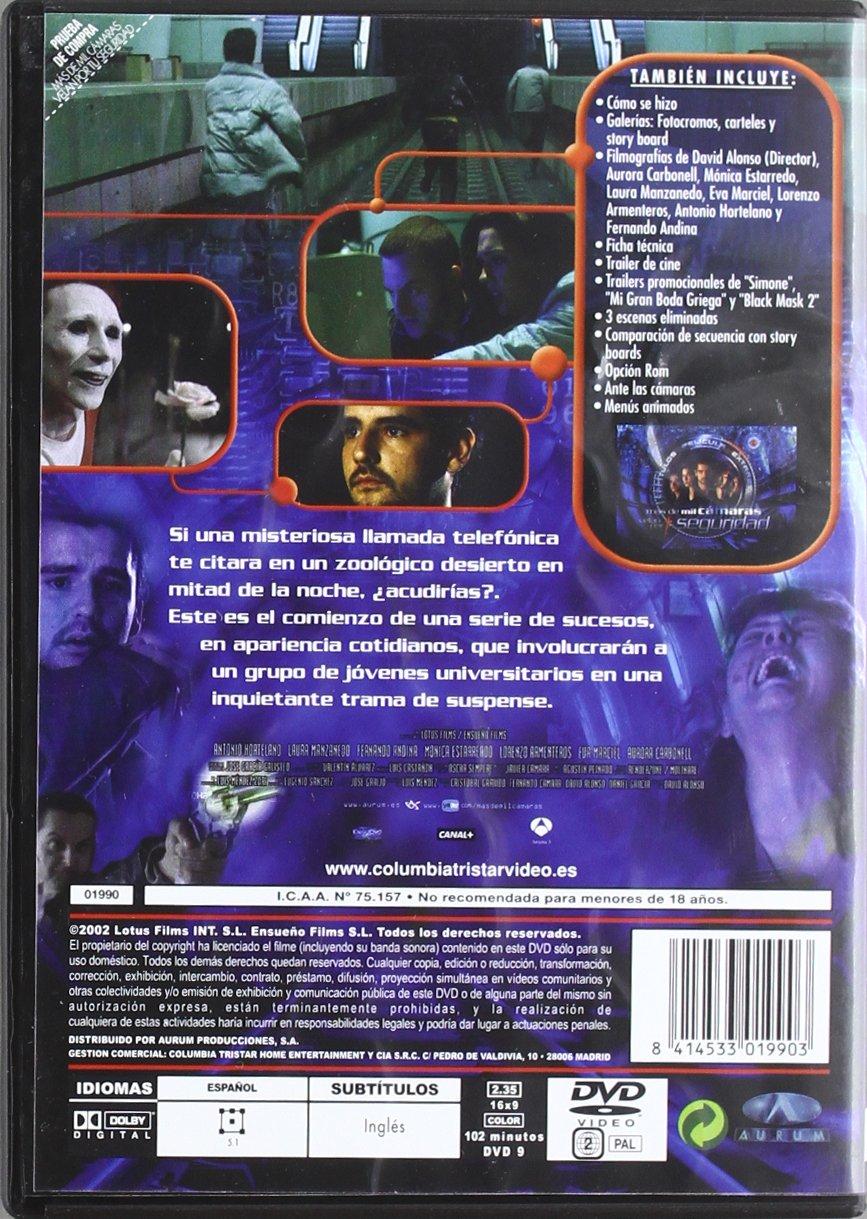 Mas De Mil Camaras Velan Por Tu Segurida [DVD]: Amazon.es: Antonio Hortelano, Monica Estarreado, Eva Marciel, Aurora Carbonell, Lorenzo Armenteros, ...