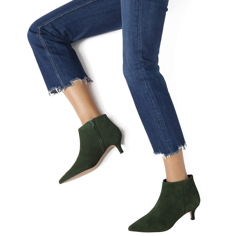 Outfit - Botín Mujer con tacón Chupete Verde: Amazon.es: Zapatos y complementos