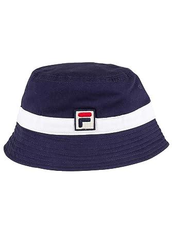 5bdefda2 Mens Fila Basil Peacoat White Bucket Hat at Amazon Men's Clothing store: