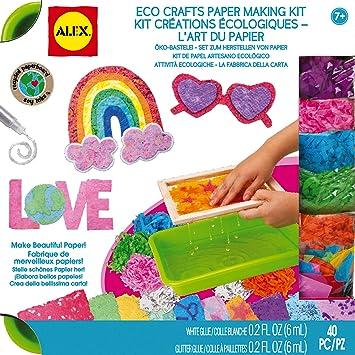 Alex- Fábrica de Papel ecológica (Juratoys 147WN): Amazon.es ...
