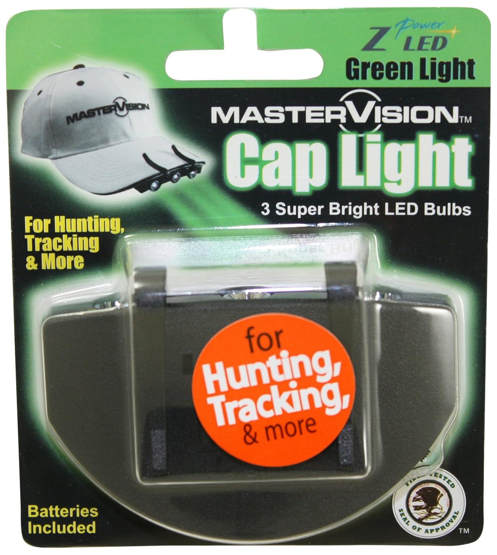 インポートマーチャンダイザー308G1WG MasterVision G1 3LEDキャップライト - グリーン B001AML41G