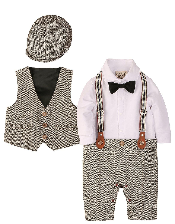 34817fe4c527 Amazon.com  ZOEREA Baby Boy Outfits Set