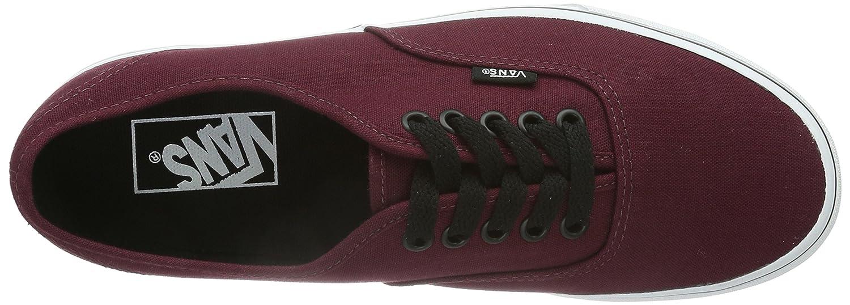 Vans Unisex-Erwachsene Authentic Sneaker Rot (Port (Port Rot Royale/schwarz) ae47ea