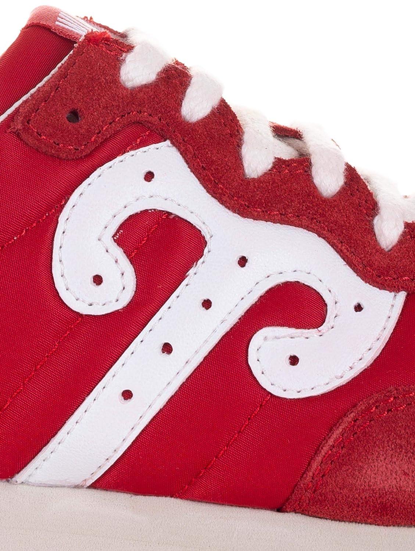Wushu Ruyi Ruyi Ruyi scarpe da ginnastica Tiatan, Camoscio Nylon, Rosso f6af99