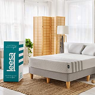 product image for Leesa Luxury Hybrid 11 Inch Mattress, Innerspring and Premium Foam, Twin