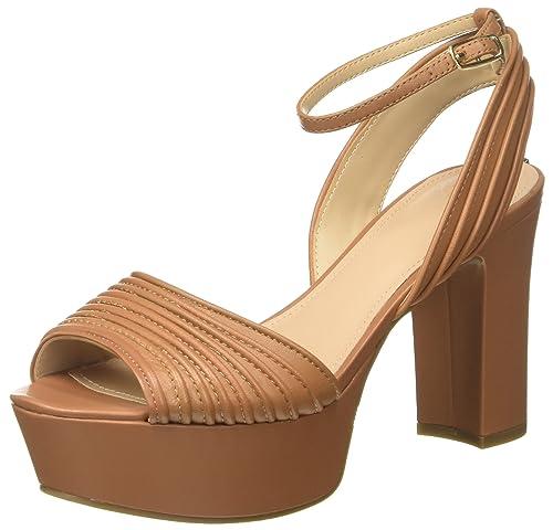 Amazon Y Mujer es Para Footwear Sandal Dress Zapatos Plataforma Con Complementos Guess Z8qCwnx