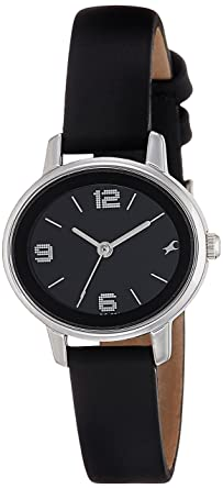 17ceac4334 Image Unavailable. Image not available for. Colour: Fastrack Analog Black  Dial Women's ...