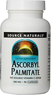 Source Naturals - éster de vitamina C liposoluble palmitato de ascorbilo 500 mg. - 90