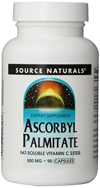 Amazon.com: Source Naturals: Ascorbyl Palmitate 500 mg 90 Capsule: Health & Personal Care