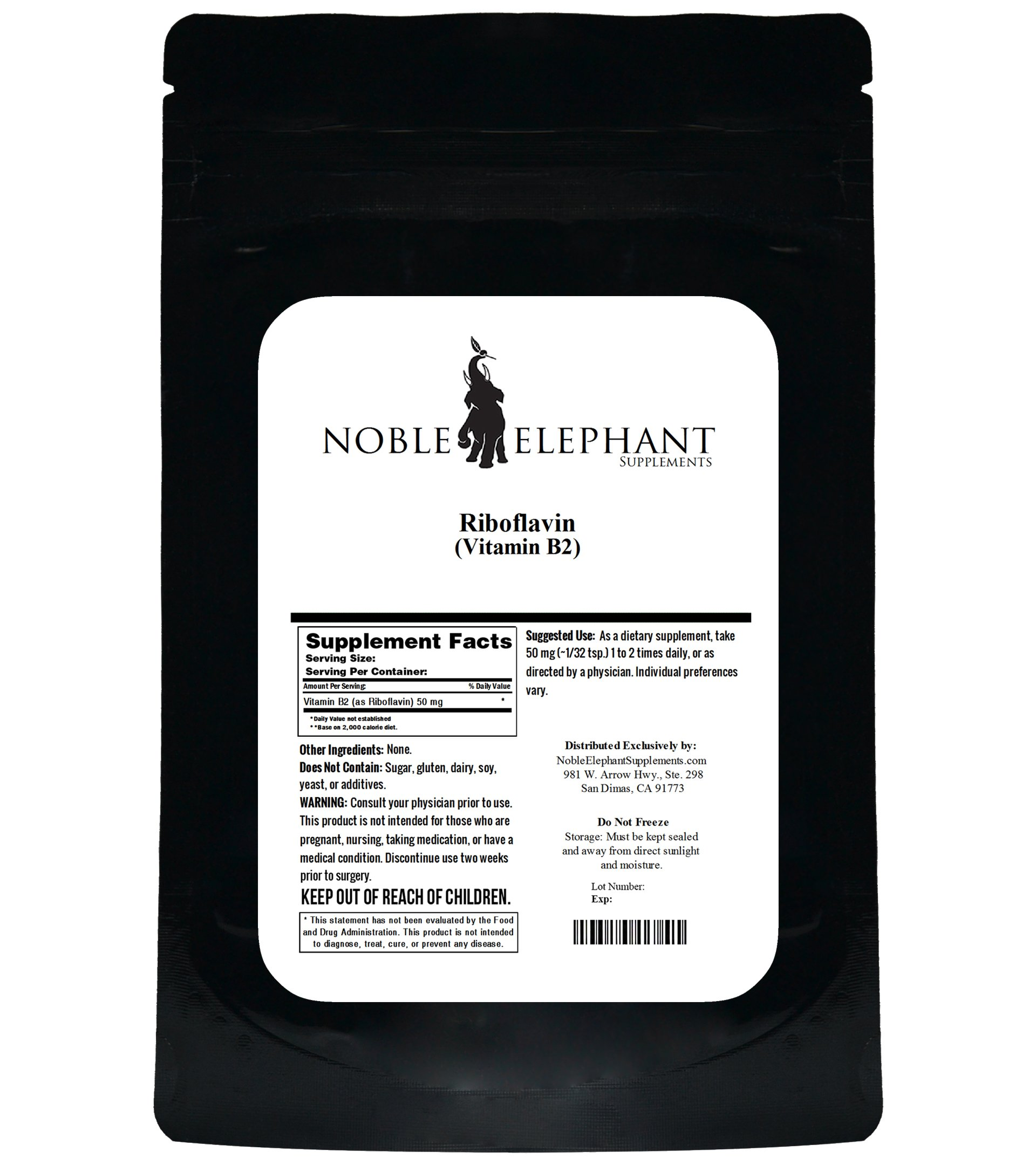 Pure Riboflavin (Vitamin B2) Bulk Powder (1 Kilogram)