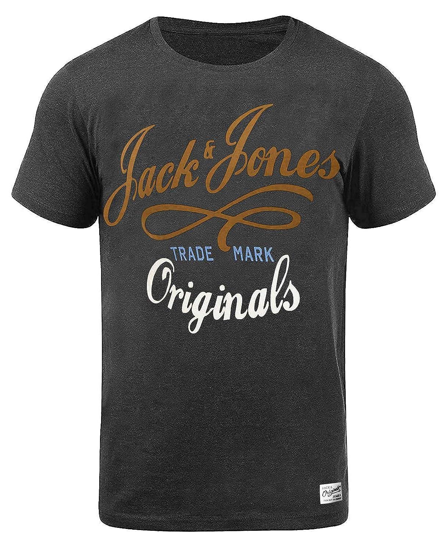 cb02bfd4381ead JACK   JONES Herren T-Shirt Jornew Quay Tee Print  Amazon.de  Bekleidung
