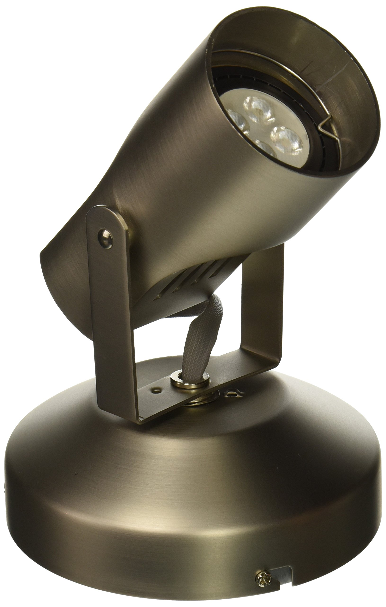 WAC Lighting ME-007LED-BN LED Monopoint 007 Spot Light with LED Lamp Included, Brushed Nickel
