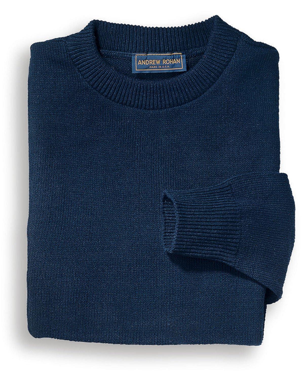 Edwards Garment Mens Crew Neck Stitch Jersey Washable Acrylic Sweater