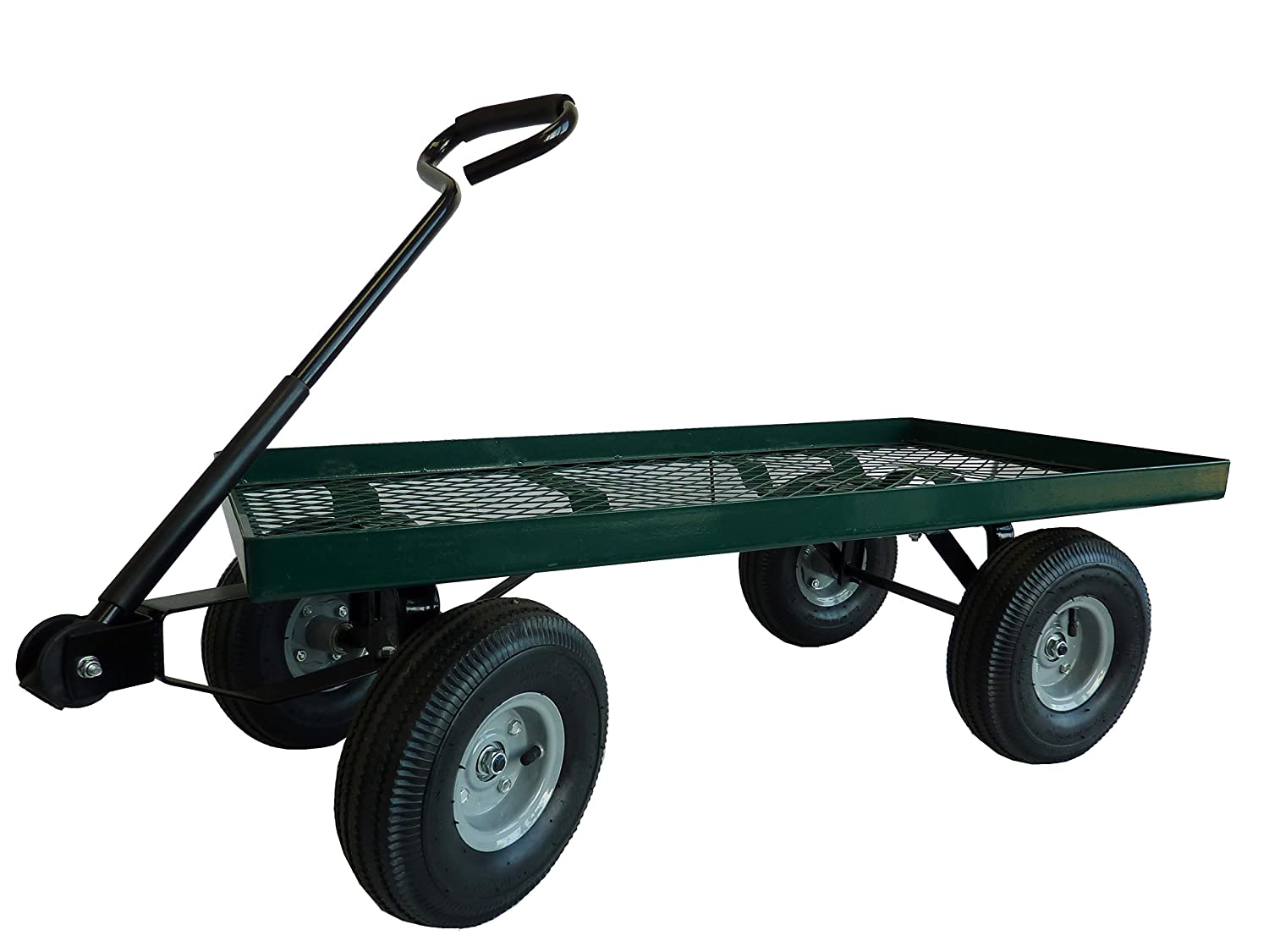 air amazon dl patio and steel lawn marathon pneumatic with frame green product garden wheelbarrows tires wheels filled cart com dp