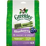 Greenies Blueberry Dental Chew, Teenie, Dog Treats 340 g, 12 oz, Puppy/Adult, Small