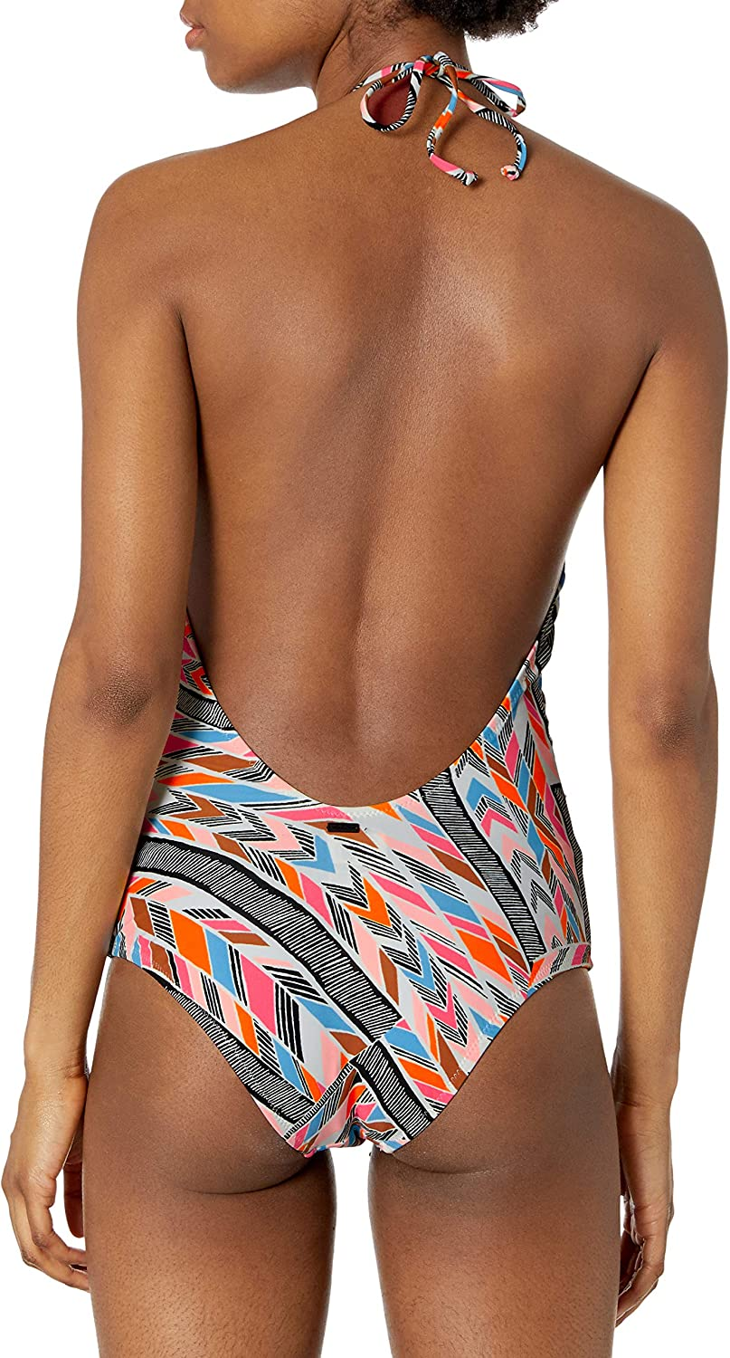 Volcom Womens Tidal Motion One Piece Swimsuit