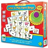 Match It! - Listen & Play Bingo - Farm Electronic Games
