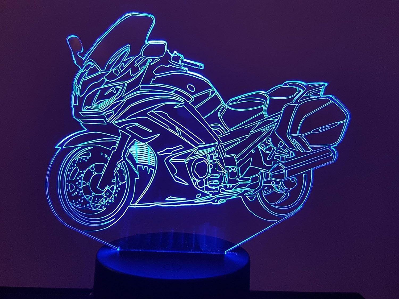 Moto Yamaha FJR 1300, lampe 3D à LED