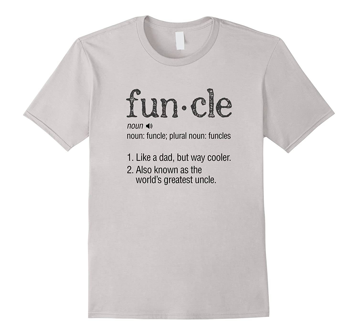 13b617e2 Mens Funcle Definition Like A Dad Only Cooler Funny Uncle Shirt-CL ...