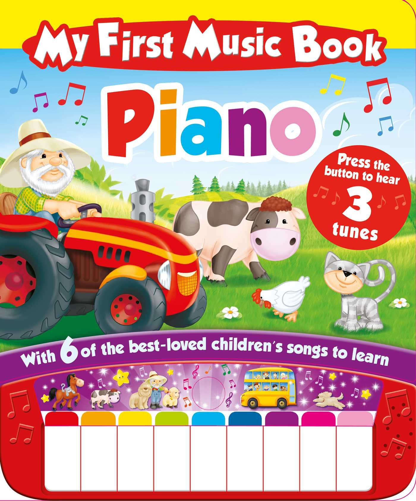My First Music Book: Piano (Sound Book): With 6 of the best