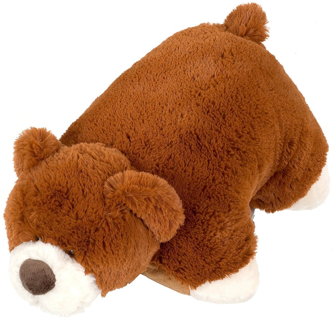 Pee Wee Genuine Pillow Pet Mr. BEAR Small 11 by Pillow Pets