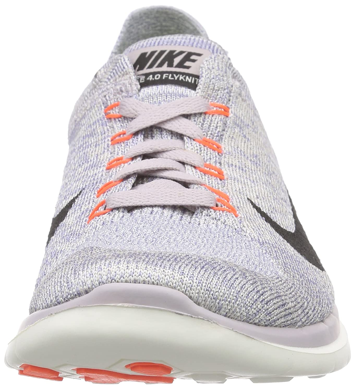 f13d5ee44079b Nike Women s Free 4.0 Flyknit Running Shoes Purple Size  3 UK  Amazon.co.uk   Shoes   Bags