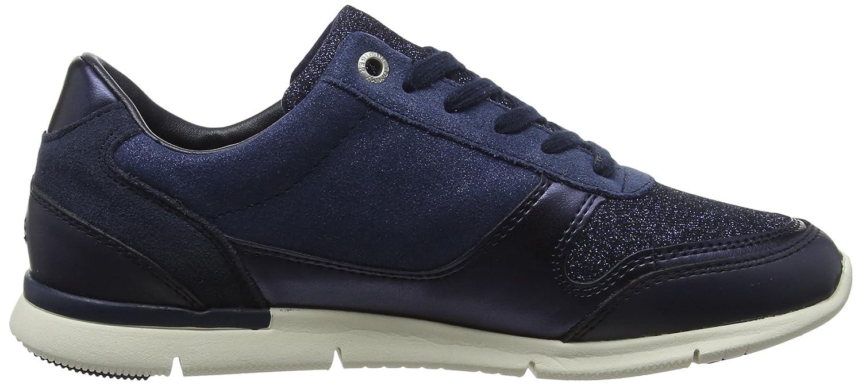 Tommy Hilfiger Blau Damen Sparkle Light Sneaker Blau Hilfiger (Tommy Navy 406) 89aff2