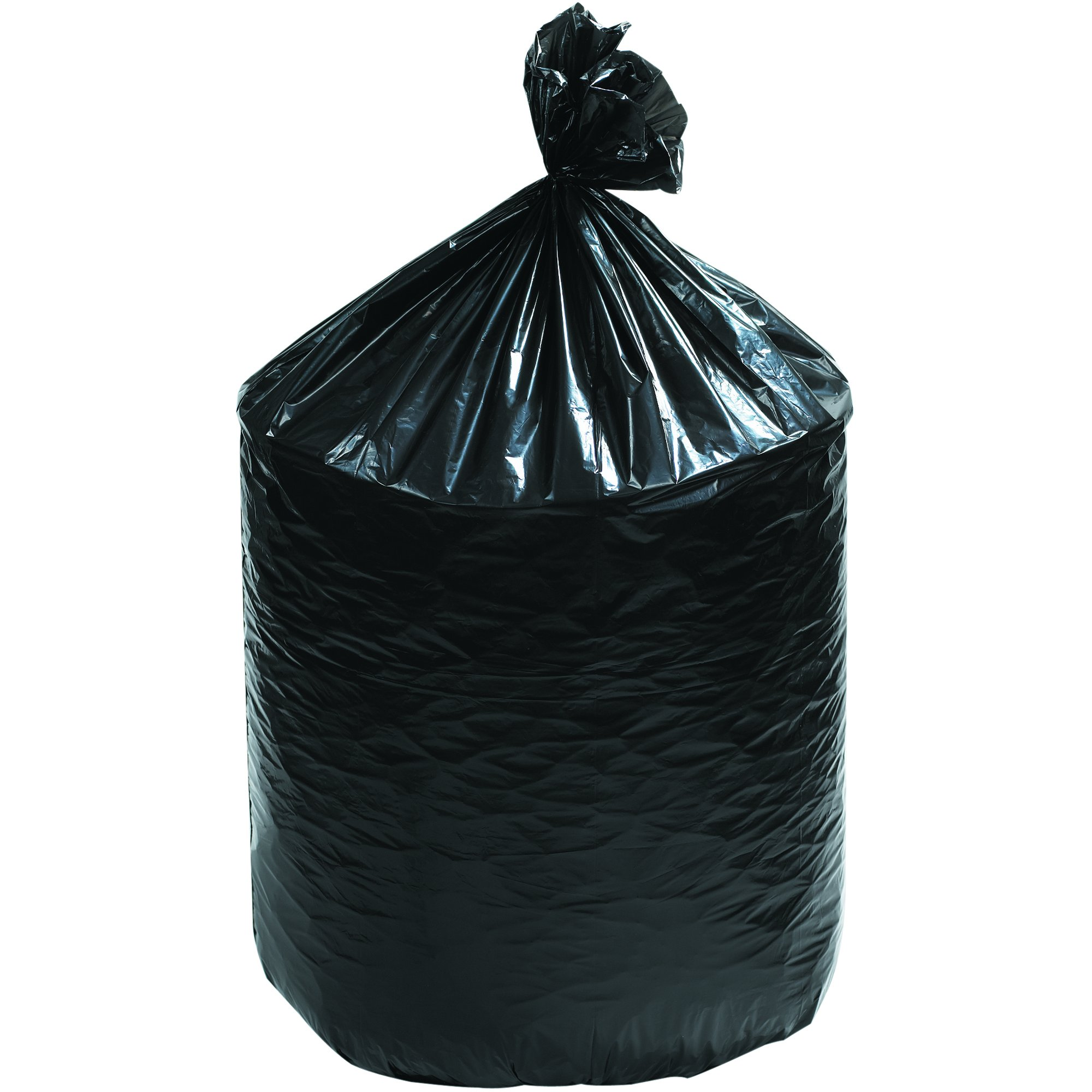 Ship Now Supply SNLBF4046XB Can Liners, 40'' x 46'', 40'' width, 46'' Height, black (Pack of 250)