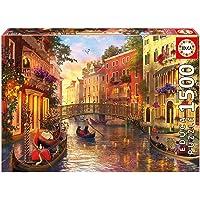 Sunset In Venice, Educa 1500 parça puzzle