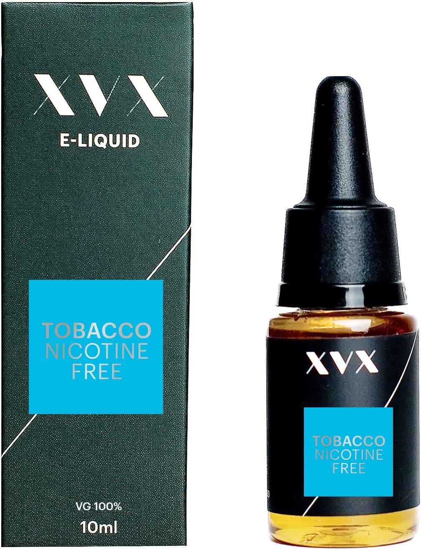 XVX E Liquid Tobacco VG Flavour Electronic Liquid For Vape Pen Cigarettes E Cigarette Shisha Vapouriser Liquid 10ml Nicotine Free Bottle Needle Tip Ecig E Cig