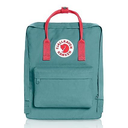 4a7085cb0 Fjallraven Kanken Classic Fabric Backpack - Frost Green/Peach Pink ...