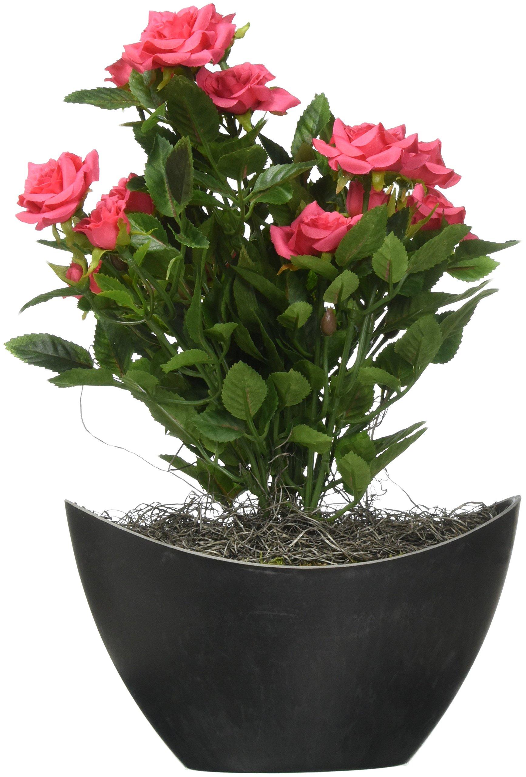 Vickerman F12229 Hot Pink Rose Everyday Floral