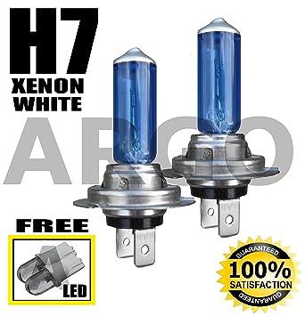 H7 100W COB LED Headlight Bulbs Pair 8000 Lumens Canbus For Hyundai i20 2008-On