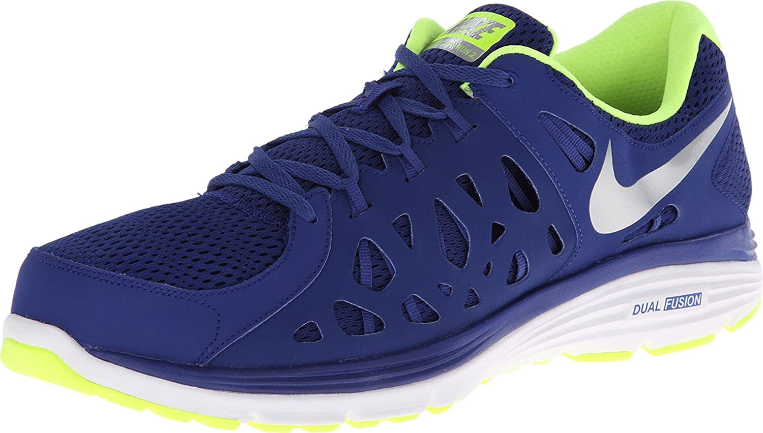 low priced 41654 4205e Amazon.com   Nike Men s Dual Fusion Run 2 Running Shoe   Running
