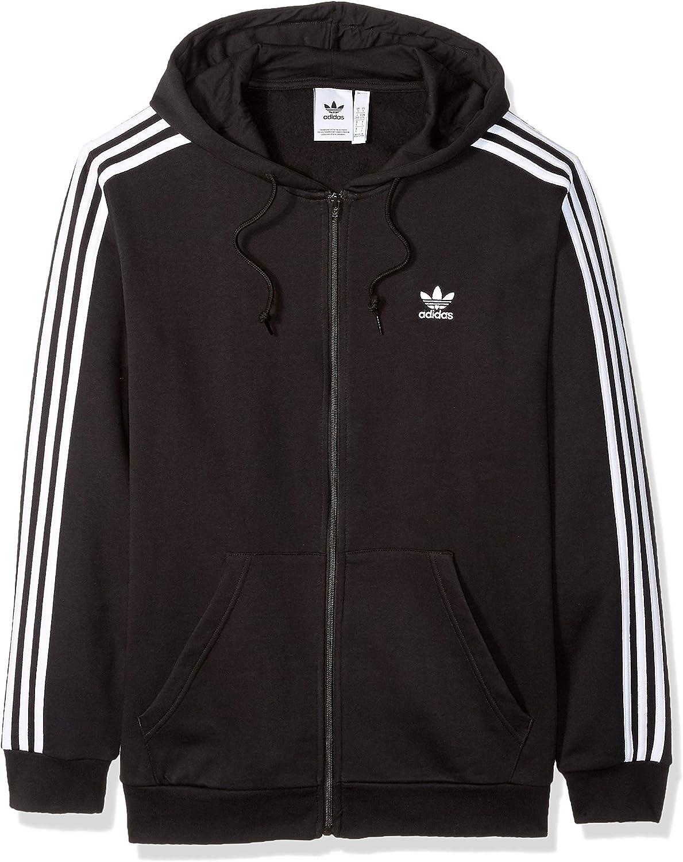 Cusco galón ejemplo  adidas Originals Men's 3-Stripes Hoodie at Amazon Men's Clothing store